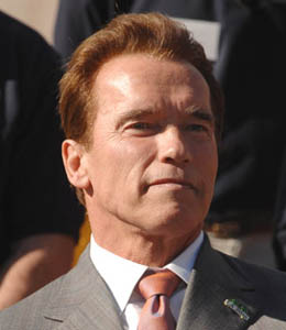 Arnold Schwarzenegger - governor of California