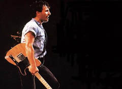 Bruce Springsteen onstage